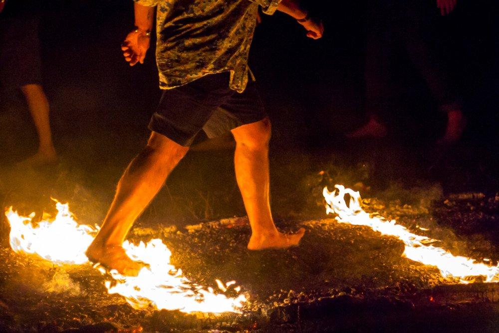 qué es el firewalking