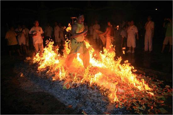 caminar sobre fuego